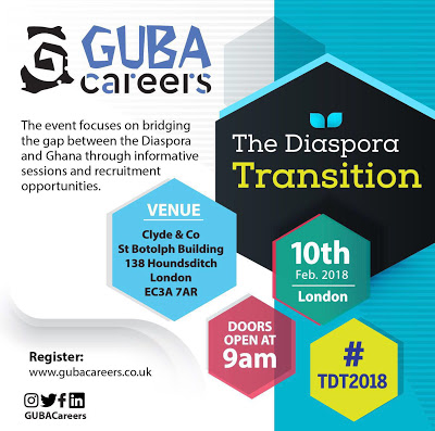 GUBA Careers To Bridge Diaspora Transition Gap