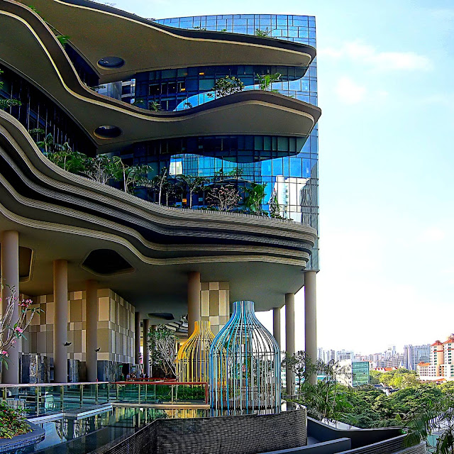 Parkroyal On Pickering By Woha A As Architecture