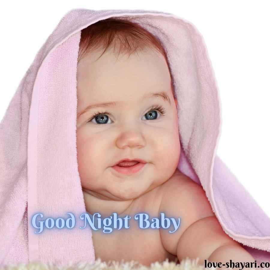 good night baby images