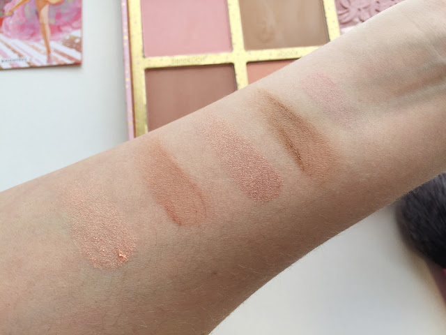 Benefit Cheekathon Palette Swatches