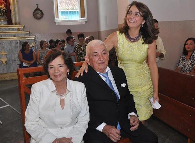 Morre aos 82 anos Moa do Sindicato Rural, pai da prefeita de Escada Mary Gouveia