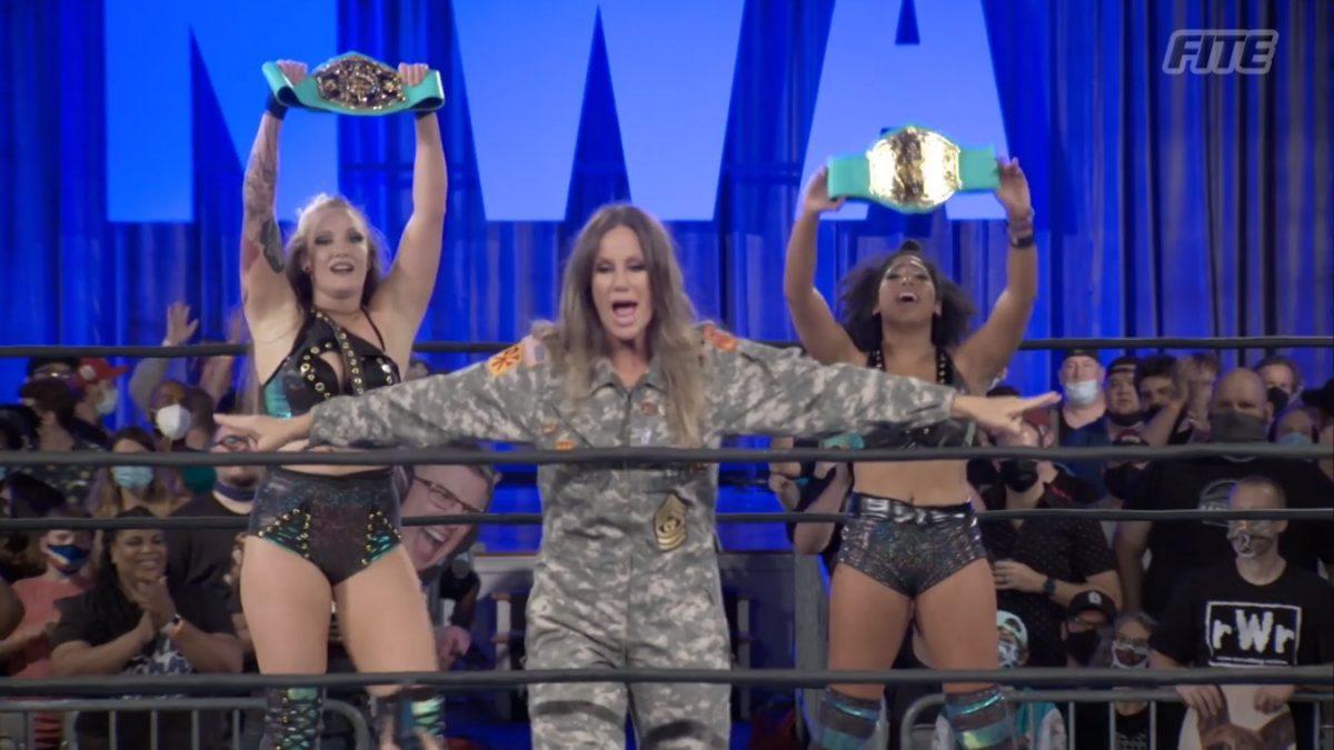 Allysin Kay e Marti Belle conquistam o NWA World Women's Tag Team Championship