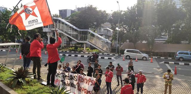 Mahasiswa Kelompok Cipayung Desak KPK Periksa Eks Dirut Garuda Ari Askara