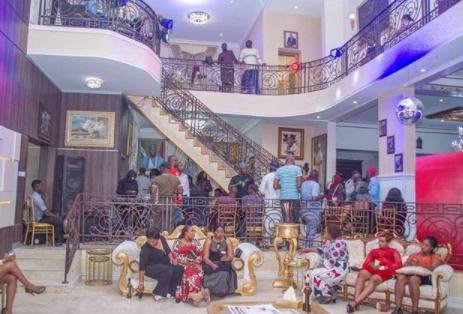 Senator Dino Melaye shows off the beautiful interior of his home