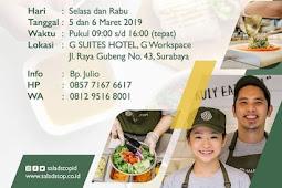 lowongan kerja restaurant crew  salad stop surabaya