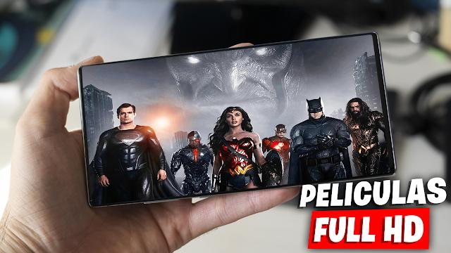 App de Películas en Full HD Para Teléfonos Android | PV CINE