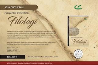 Pengantar Penelitian Filologi (Achadiati Ikram)
