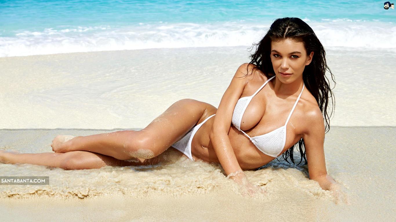 Erin Willerton Sexy Bikini HD Wallpaper