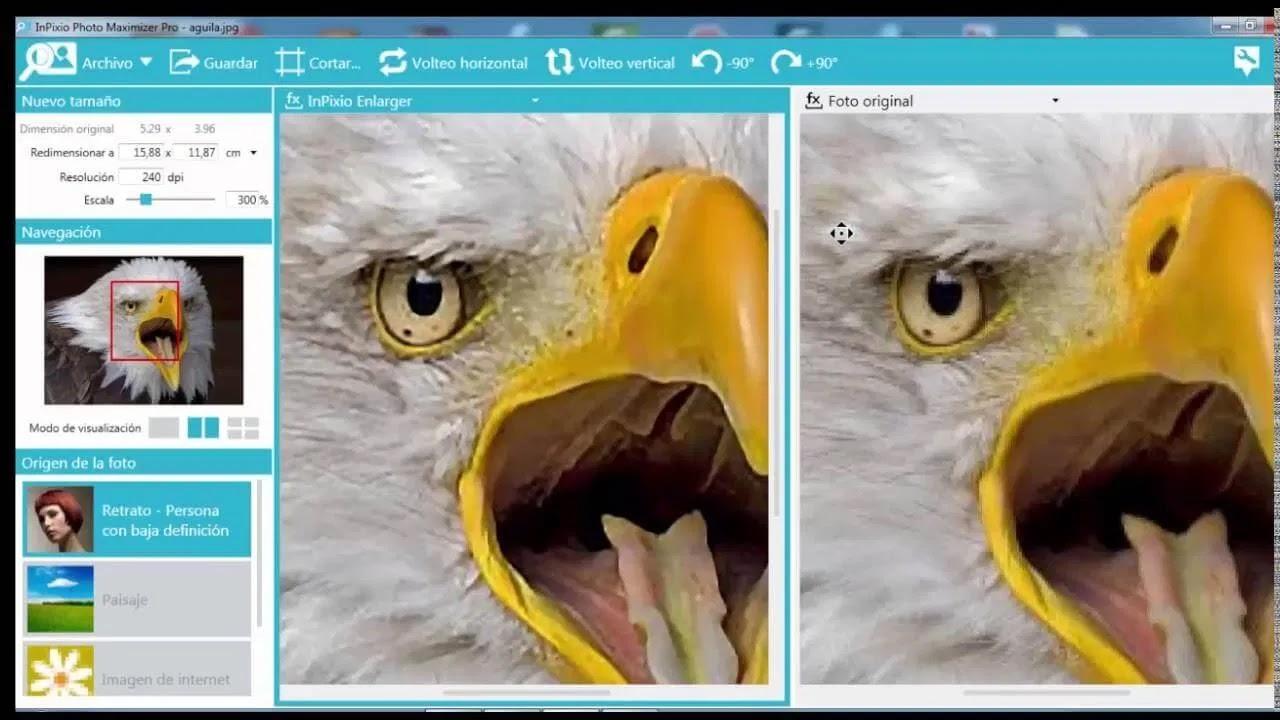 تحميل برنامج InPixio Photo Maximizer Pro 5.11  لتكبير الصور الرقمية
