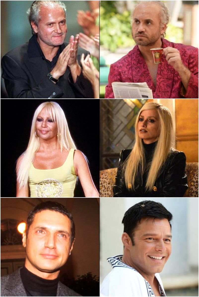 O Assassinato de Gianni Versace – personagens reais e atores