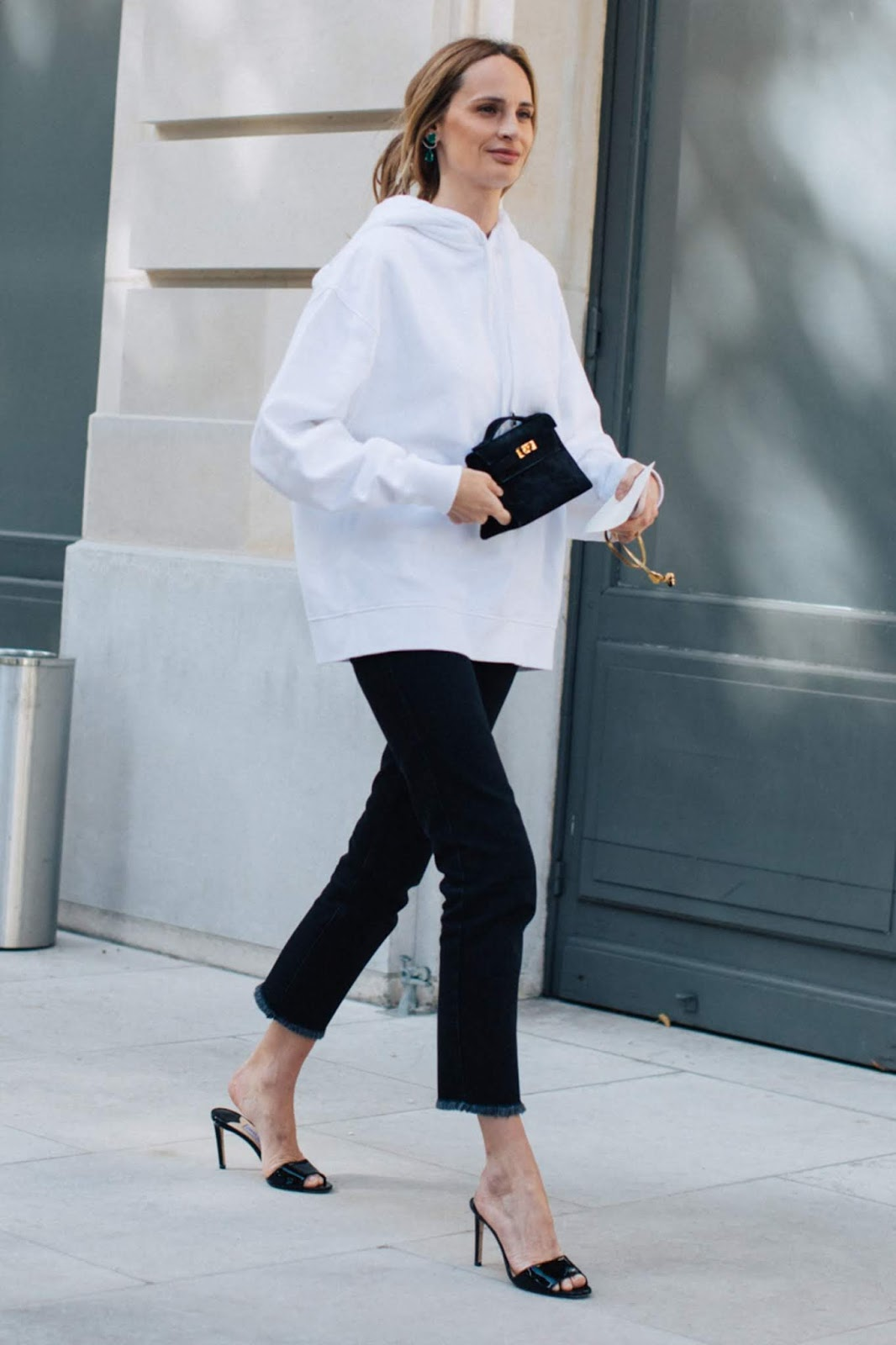 The Über-Chic Way to Wear a Hoodie for Fall — Lauren Santo Domingo Street Style
