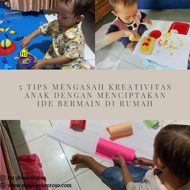 5 Tios Mengasah Kreativitas Anak dengan Menciptakan Ide Bermain di Rumah dan dua standar mainan