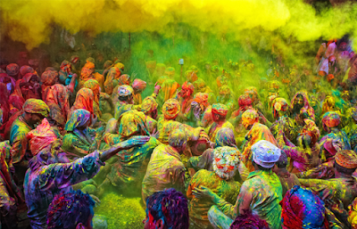 Best Holi Photos