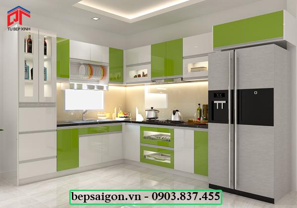 tu bep, tủ bếp hiện đại, nội thất tủ bếp