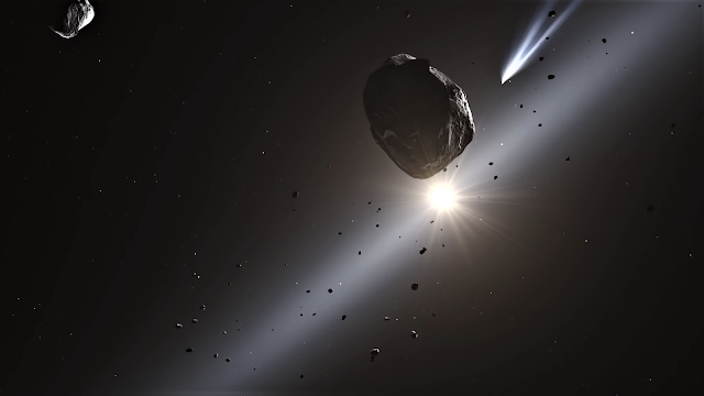 Astronomers found oxygen in images of the first interstellar comet 2I/Borisov.