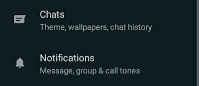 cara dark mode gelap wa realme oppo whatsapp
