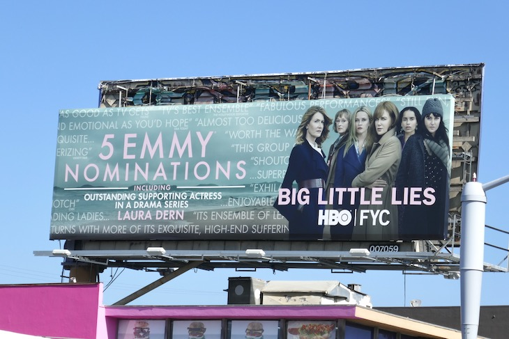 Big Little Lies 2020 Emmy nominee billboard