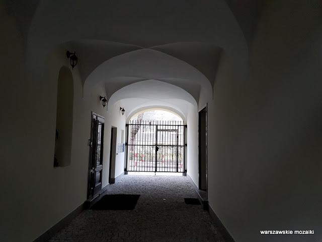 Warszawa Warsaw kamienica Józefa Frageta 1830 Śródmieście architektura sklepienia krzyżowe