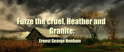 Furze the cruel, Heather and Granite