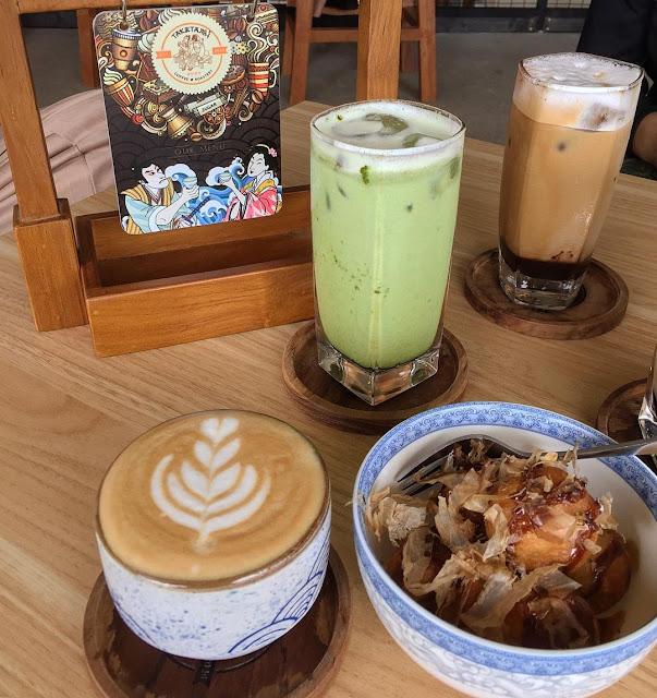 Menu di Taketama Coffee Bar Sidoarjo