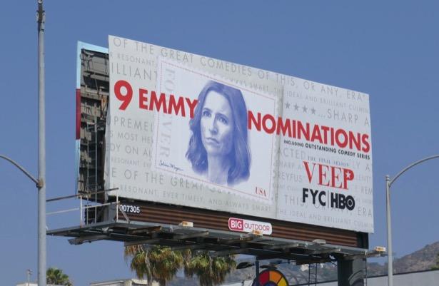 Veep 2019 Emmy nominee billboard