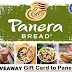 Panera Bread $20 Gift Card Giveaway - 2,500 Winners Each Win $20. Limit One Entry, Ends 8/12/20