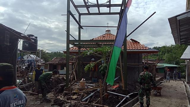 Program TMMD Mojosongo Tingkatkan Kemanunggalan TNI - Rakyat