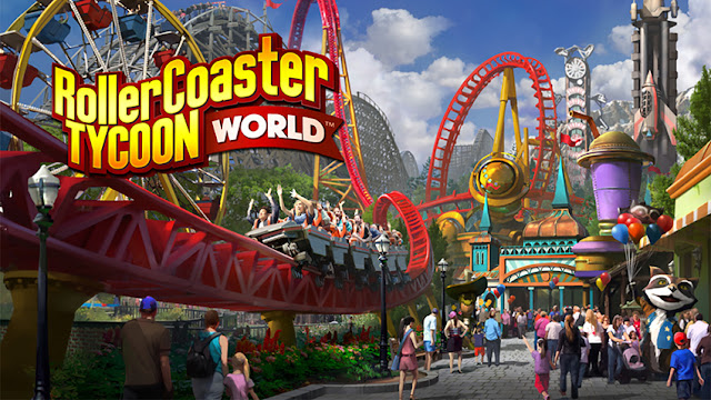CC-CrackedGames: RollerCoaster Tycoon World Free Download