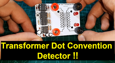 Transformer dot convention detector