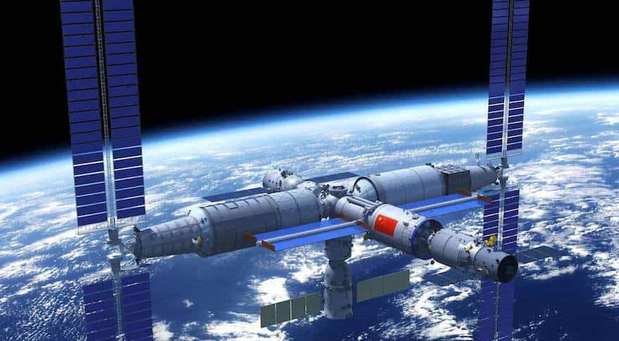 "China's Space Station ""Heavenly Palace"""