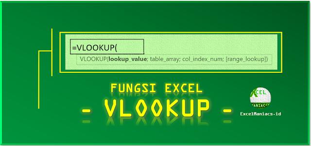 Fungsi Excel VLOOKUP