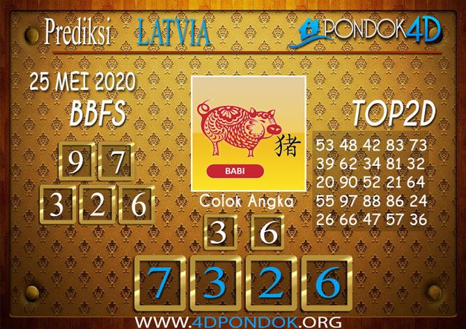 Prediksi Togel LATVIA POOLS PONDOK4D 25 MEI 2020