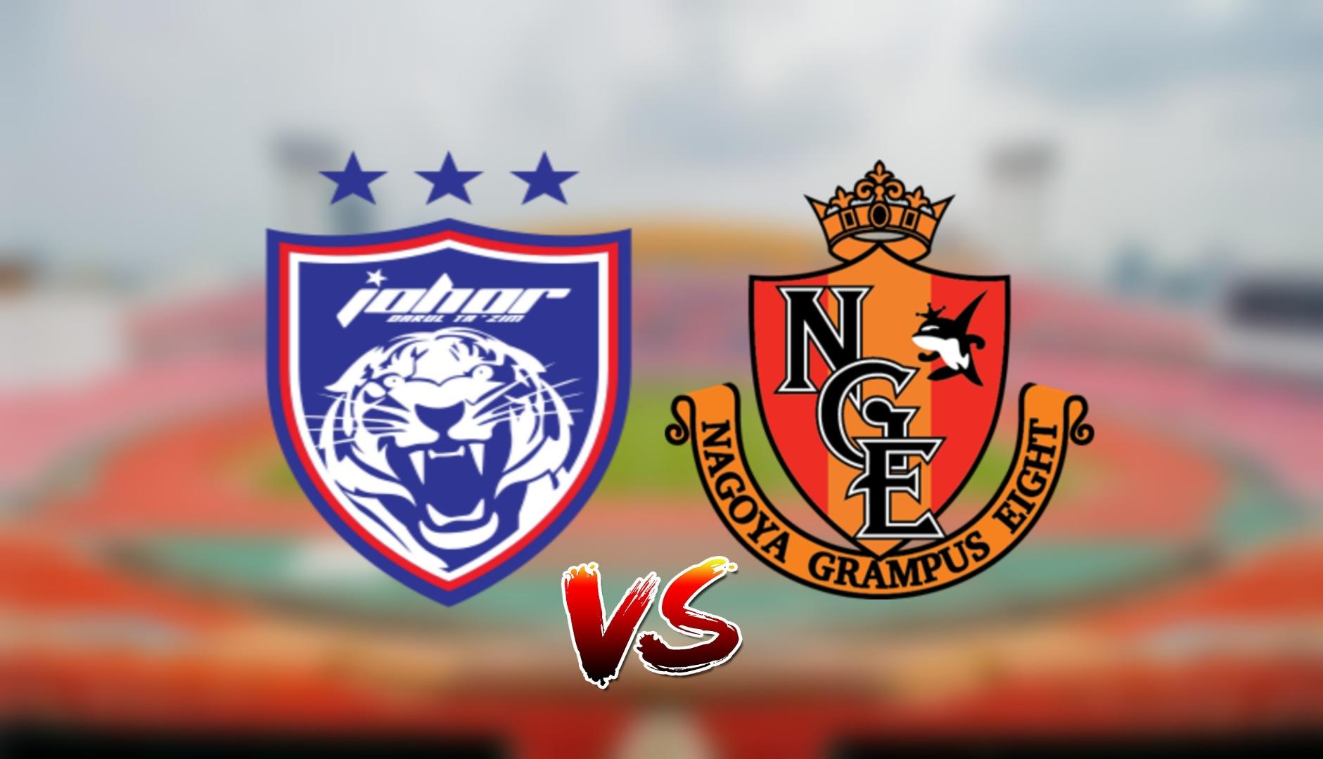 Live Streaming JDT FC vs Nagoya Grampus ACL 22 Jun 2021