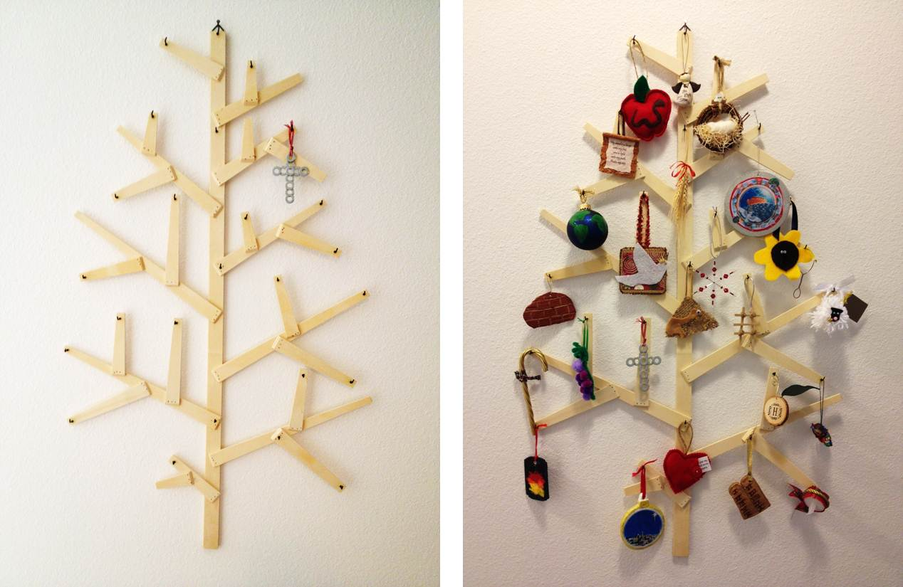 Inspired Whims: Our Jesse Tree/Advent Tree