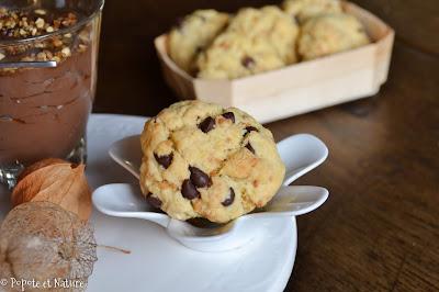 cookies pépites choco et pralin ©Popote et Nature