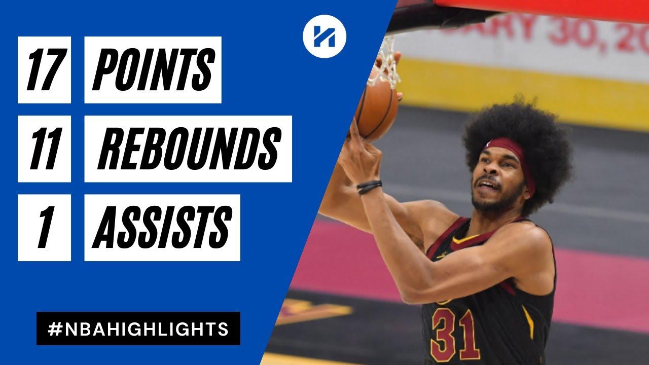 Jarrett Allen 17pts 11reb vs IND | March 3, 2021 | 2020-21 NBA Season