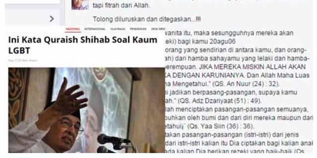 Patahkan Pernyataan Ngenyel Quraish Shihab, Gadis Minang ini Suruh Quraish Shihab Belajar Agama Yang Benar