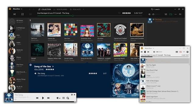 5 Software Pemutar Musik Gratis Terbaik Untuk Windows 2019 - MusicBee