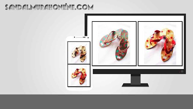 Sandal murah Garniss Fiber wanita modern harga pabrik