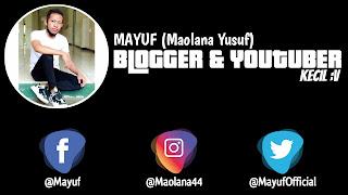 Mayuf Blog Comeback