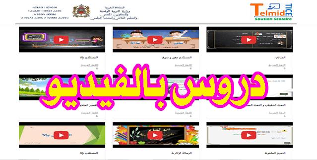 شرح دروس اللغة العربية السادس ابتدائي بالفيديو - الجزء الثاني - شرح مميز