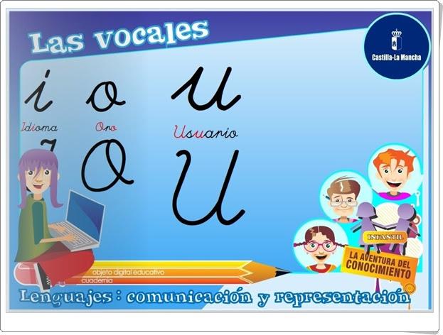 """""""Las vocales"""" (Lectoescritura de Educación Infantil)"""