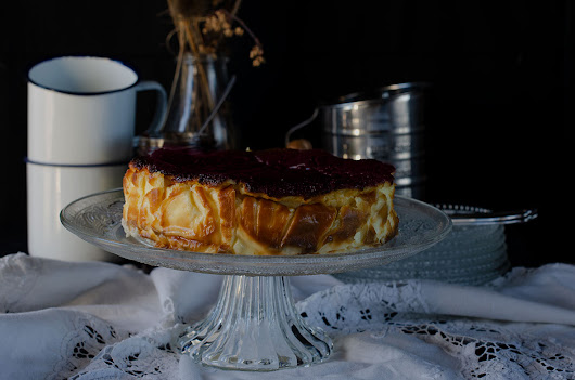 TARTA DE QUESO MASCARPONE Y REQUESON