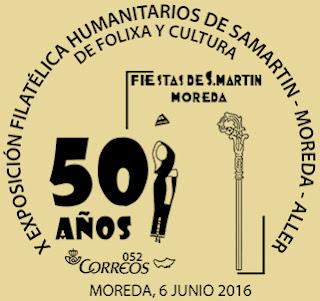 Matasellos de los Humanitarios de Moreda 2016