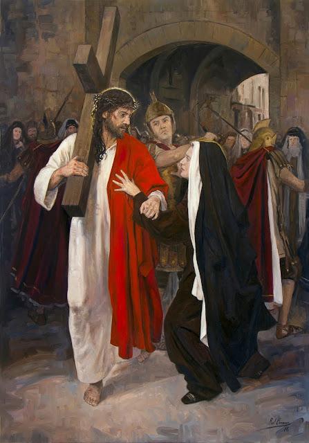 IV Estação da Via-Sacra - Jesus encontra sua mãe