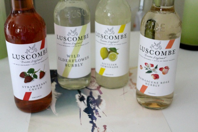 Non alcoholic summer drinks from Luscombe drinks. Nourish ME: www.nourishmeblog.co.uk