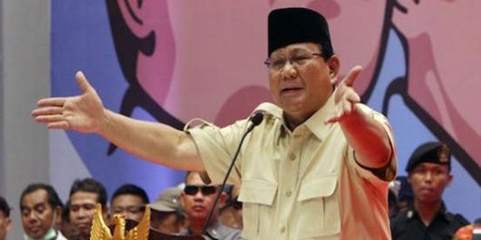 Prabowo: Semoga Hakimnya Cepat sadar, Karena yang Dilakukan itu Dzolim