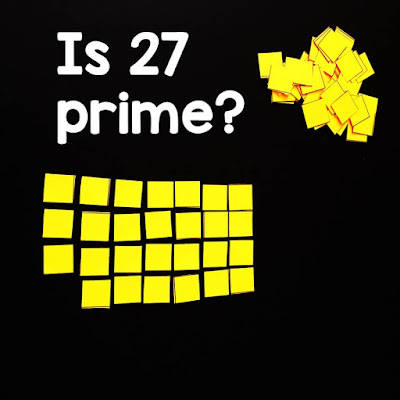 If your students struggle with the idea of prime vs. composite numbers, this hands-on investigation activity into prime numbers may be helpful, especially to the kinesthetic learners in your classroom.