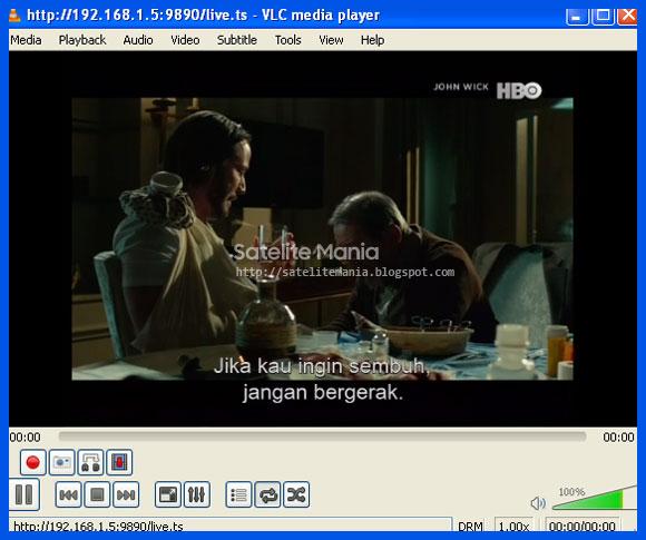 Webserver Receiver menggunakan PC/Laptop