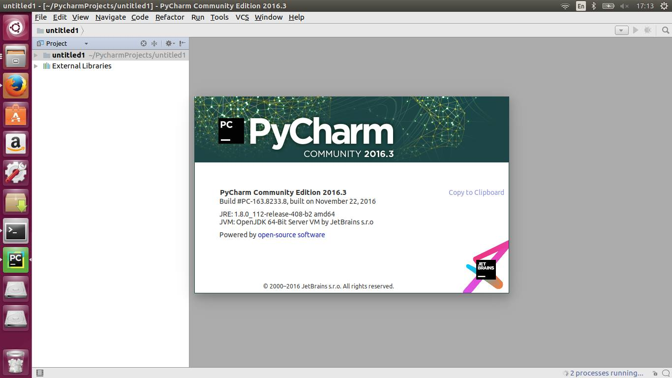 How to change python console version in pycharm
